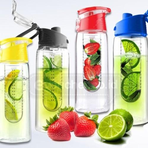 Foto Produk Botol Tritan gen 2 / Fruit Infused Water 2nd kesehatan buah lemon dari sumbawa shop