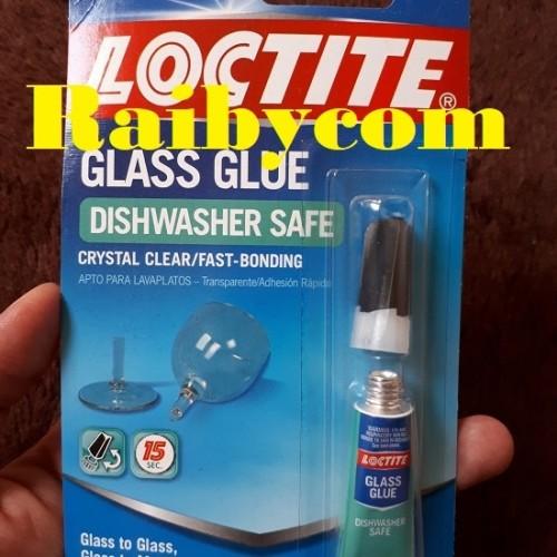 Foto Produk Lem Kaca Transparan / Clear LOCTITE Glass Glue 2g Import Ireland dari Raibycom
