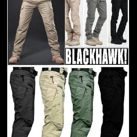 Foto Produk Celana Tactical Blackhawk Panjang PDL dari Grosir Militer