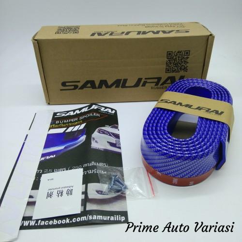 Foto Produk Ductail Samurai Carbon BLUE / Ductail Universal Ductail Bagasi Carbon dari Prime Auto Variasi