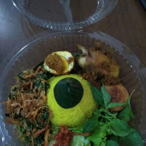 Foto Produk Nasi Tumpeng Kuning Mini 4 Lauk dari NJTMM Shop