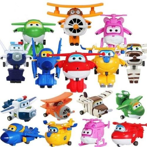 Foto Produk mainan figure super wings robot Transformer dari toko bla bla