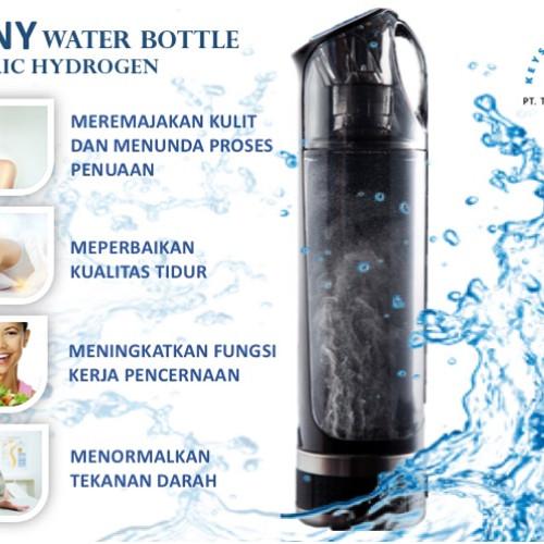 Foto Produk SHINY ELECTRIC HYDROGEN ALKALI WATER BOTTLE / BOTOL AIR HYDROGEN dari Global consumer market