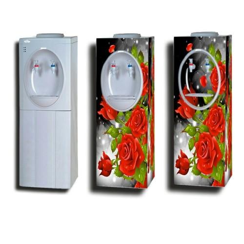 Foto Produk stiker dispenser besar motif bunga dari era stiker