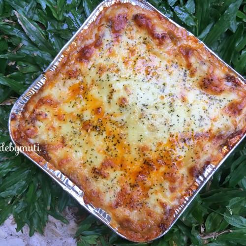 Foto Produk Lasagna - Beef Mushroom (Size Family) dari Made by Muti