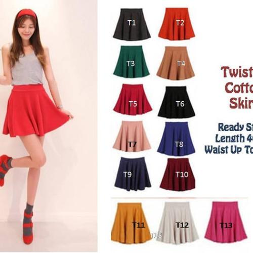Foto Produk Rok Mini Flare Skirt Murah dari blidei store