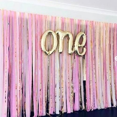 Foto Produk Balonasia Dekorasi Streamer Party - Dekorasi Ulang Tahun / Pesta - Pink dari Balonasia