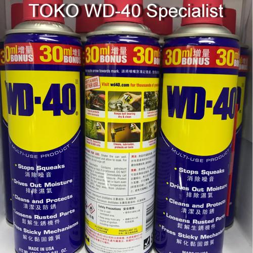 Foto Produk WD40 412 ML / WD 40 412 ML / 13,9 OZ dari WD-40 Specialist
