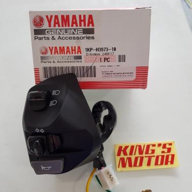 Foto Produk saklar kiri, SEN MIO J, MIO M3, SOUL GT 1KP H3973 10 ASLI YAMAHA dari King'S Motor