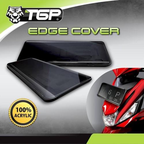 Foto Produk Dudukan / Cover Plat Nomor Motor TGP EDGE COVER New Model dari Lestari Motor 2