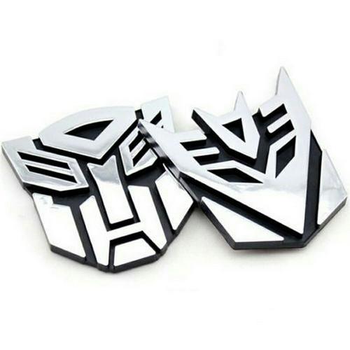 Foto Produk Emblem / Logo / Stiker 3D Transformers Autobot - Decepticon - Decepticon dari toys village