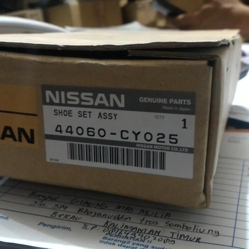 Foto Produk Brake Shoe XTRAIL T31 SERENA C26 C25 Kampas rem belakang 44060-CY025 dari Sparepart Nissan Genuine