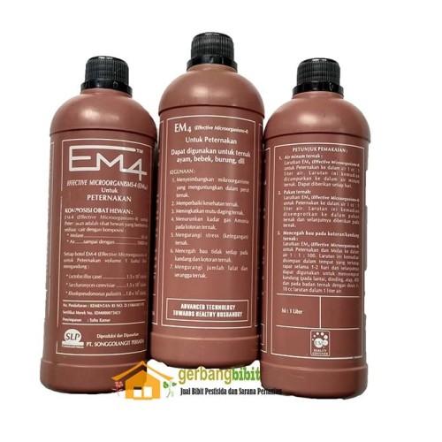 Foto Produk Bakteri EM4 peternakan 1 Liter dari Purotani.ID