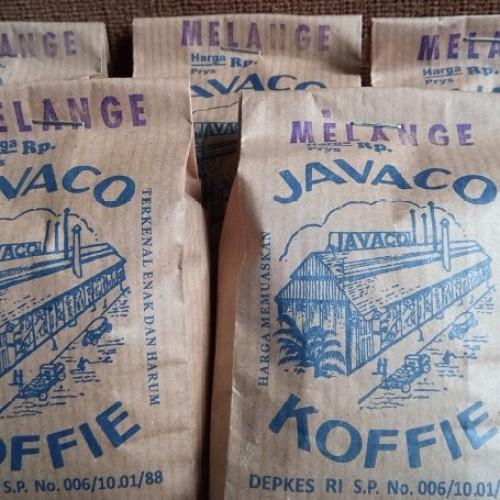 Foto Produk KOPI JAVACO BANDUNG - Melange Robusta Arabica 250 gr - Favorit Bdg dari Tokomart Shop