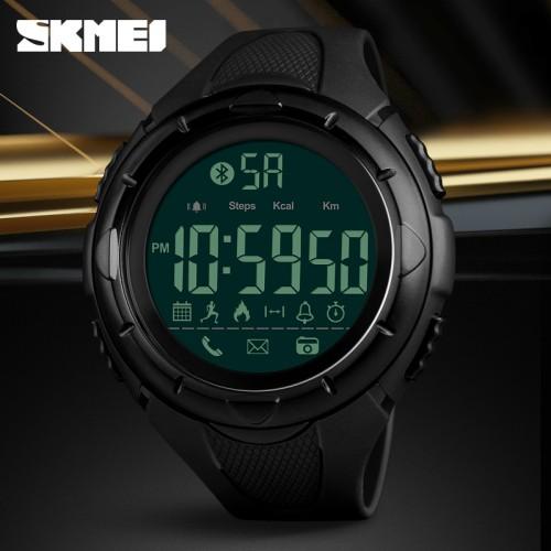 Foto Produk Jam Tangan SKMEI 1326 Bluetooth Pedometer Smart Watch - 50M Waterproof dari SKMEI WATCH