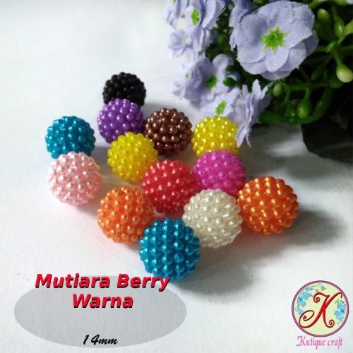 Foto Produk Mutiara Berry / Mutiara Jeruk Warna dari Kutique Craft