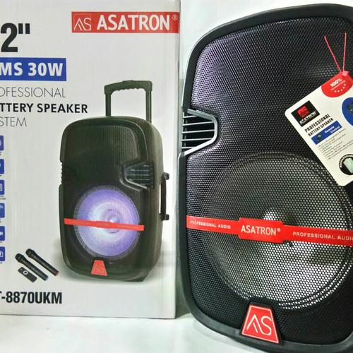 Foto Produk Speaker portable meeting bluetooth Asatron HT 8870 UKM+2 mic wireless dari AP accesories