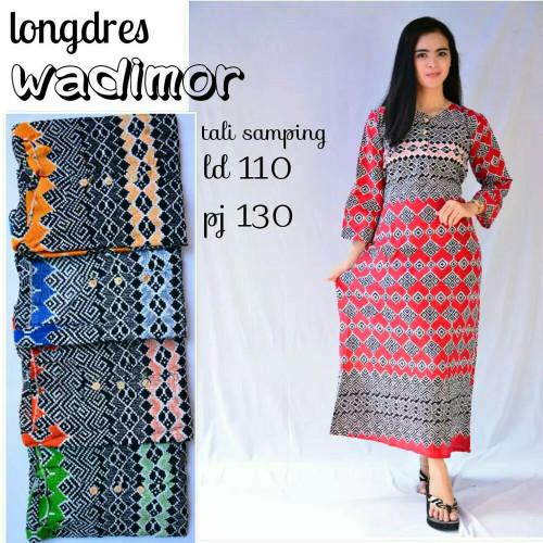 Foto Produk Gamis rayon murah / longdress batik pekalongan / daster murah dari RisqianaBatik