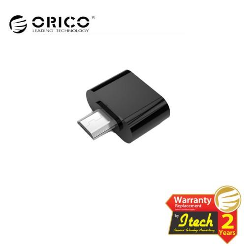 Foto Produk ORICO MOG02 Micro USB To USB OTG Adapter For Android -Hitam dari ORICO INDONESIA