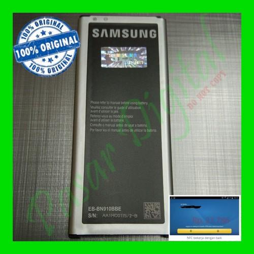 Foto Produk Batre Baterai Battery Samsung Galaxy Note 4 Original 100% dari Pasar Digital