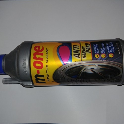 Foto Produk M ONE 500 ML Cairan Tambal Tubles Untuk Ban Motor Tubles Tapak Lebar dari Lestari Motor 2