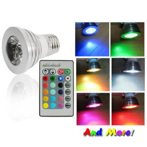 Foto Produk Lampu Bohlam LED RGB with Remote Control Warna Warni Kamar Tidur dari aksesoris-iPhone