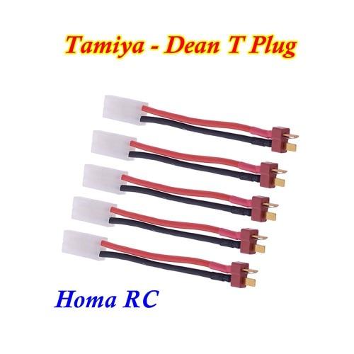 Foto Produk Konektor Adaptor Tamiya Dean T Plug dari Homa RC