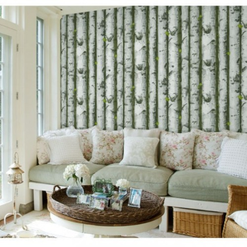 Foto Produk Wallpaper 3D Non Woven Nordic Woods 53cmx10m - 66064 dari Tanaga Online Shop