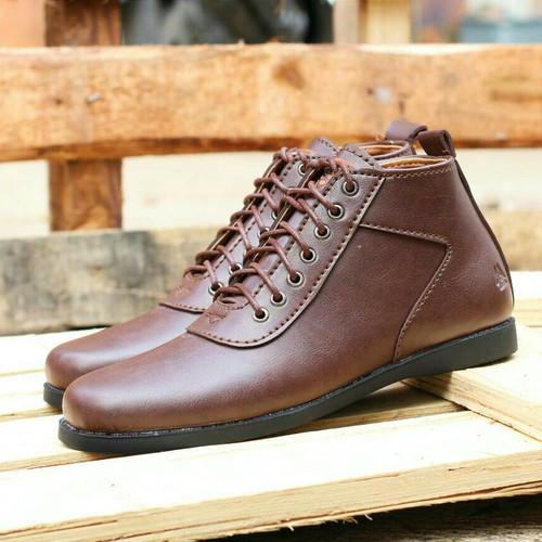 Foto Produk Sepatu brodo casual pria semi boots original heroes footwear dari nazwa shoes
