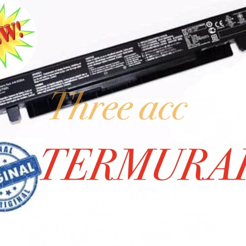 Foto Produk Baterai Original Asus A450 A450C A450CA A450CC A41-X550 A41-X550A dari Three Acc
