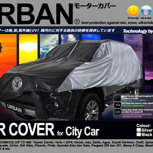 Foto Produk Car Cover Mobil URBAN CITY CAR jazz yaris mini cooper estilo small dari garage sale must go