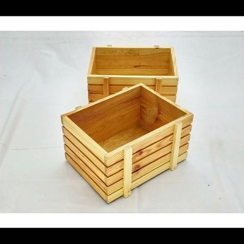 Foto Produk Kotak Kayu Pinus dari KAI Wooden Art
