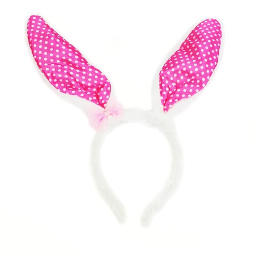 Foto Produk Balonasia Aksesoris Rambut Wanita Bando / Bunny Headband/ Hitam, Putih dari Balonasia