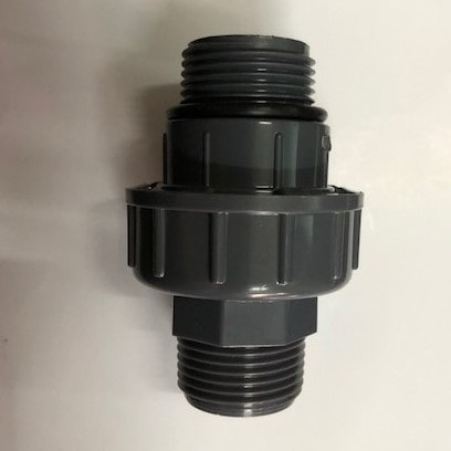 """Foto Produk Union Adaptor Thread Penguin MxM 1"""" / Watermur 1"""" dari Toko Material"""