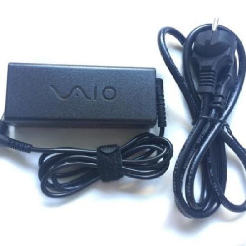 Foto Produk original charger adaptor Sony charger laptop Sony vaio19.5v 3.3A DC dari LeoKomputer