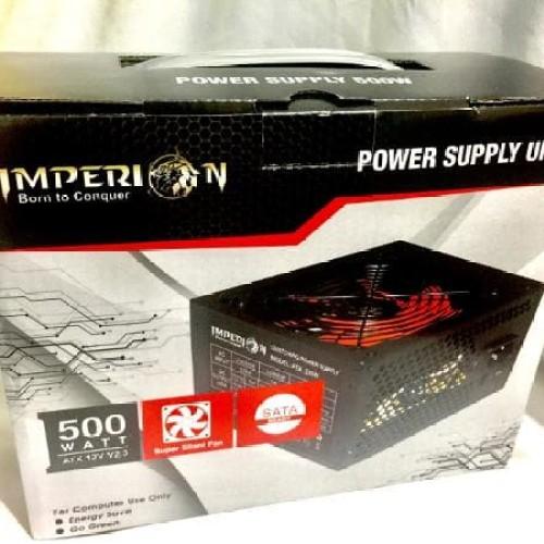 Foto Produk power supply gaming imperion 550w /550watt Promoo dari LeoKomputer