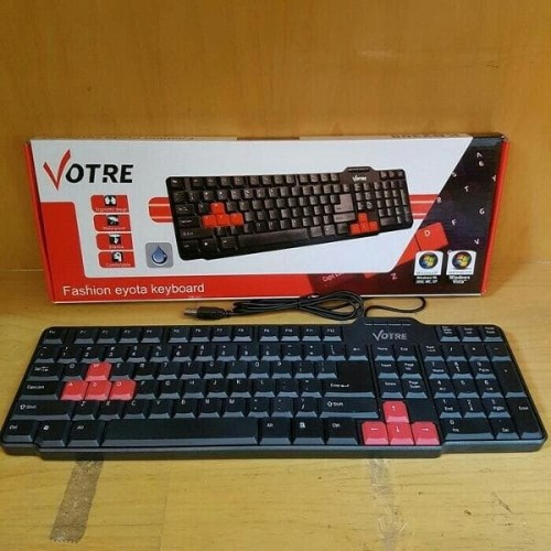 Foto Produk Votre Keyboard USB Standard waterprof Promoo dari LeoKomputer