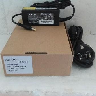 Foto Produk adaptor axioo pico pjm cjm zirex w217cu 19V-1.58A original charger dari LeoKomputer