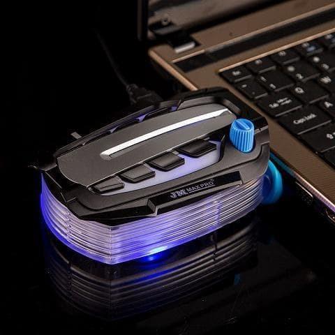 Foto Produk Jm Maxpro V8 Exhaust Vacum Fan / Cooler Notebook Laptop Pendingin dari LeoKomputer