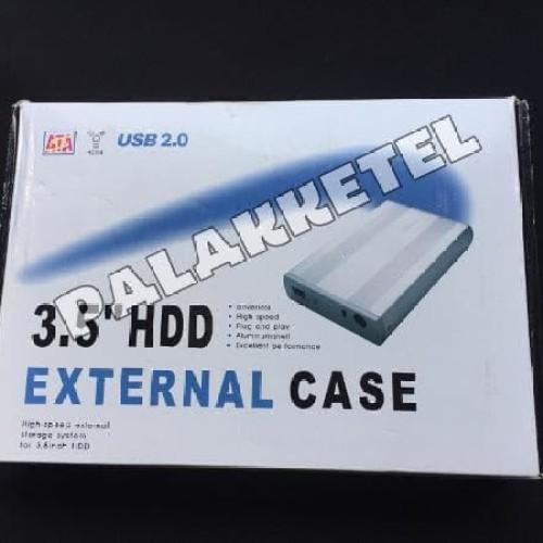 Foto Produk HDD eksternal case 3.5 IDE Usb 2.0 casing hardisk Promoo dari LeoKomputer