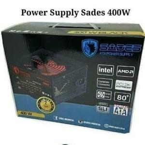 Foto Produk Sades Power Supply 400W 80 Plus psu sades gaming Promoo dari LeoKomputer