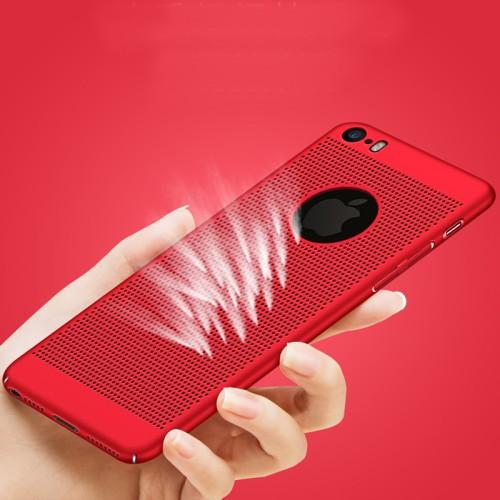Foto Produk Breathable Cooling Heat Dissipation Case Casing iPhone 6 6S 7 8 X Plus - Biru, 6 atau 6S dari iShop Here