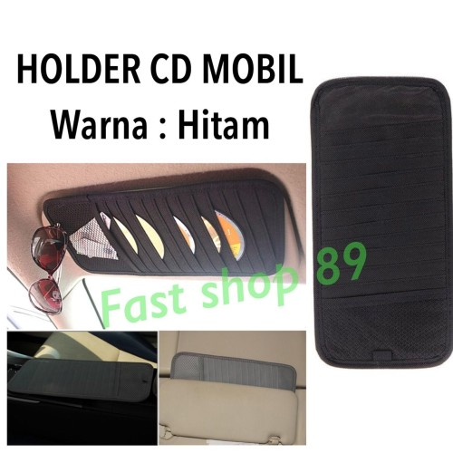 Foto Produk HOLDER CD MOBIL / CD ORGANIZER CAR - HITAM - CD551 dari fast shop 89