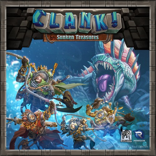 Foto Produk Clank!: Sunken Treasures ( Original ) Board Game Expansion dari Toko Board Game