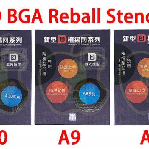 Foto Produk PLAT BGA 3D REBALL STENCIL FOR IPHONE A10 dari ERCO
