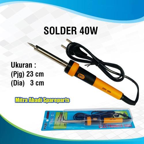 Foto Produk Solder AC 220V/220 Volt 40W/40 Watt YIZI 4245-8 23 cm dari Mitra Abadi Spareparts