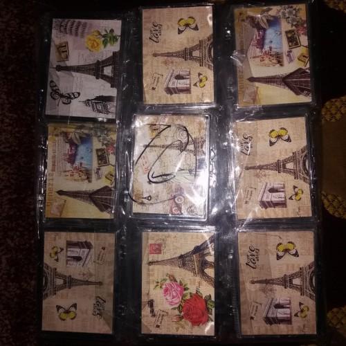 Foto Produk souvenir pernikahan kaca paris kotak harga grosir + Plastik -GG29 dari Souvenir Pernikahan Agi