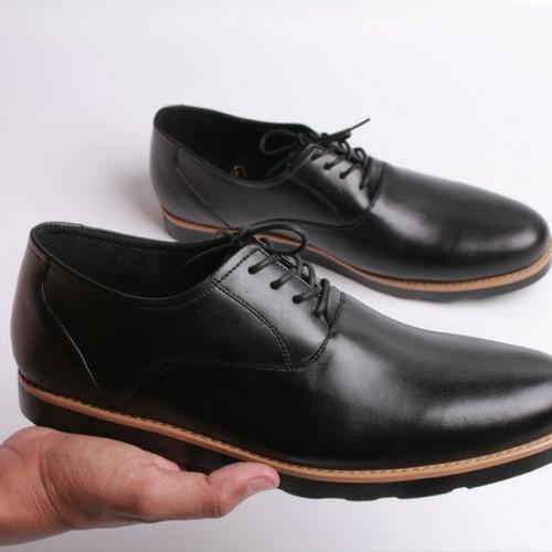 Foto Produk sepatu kulit pria boston oxford (bally/pedro/brodo/pantofel/boot/kerja dari faiz footwear