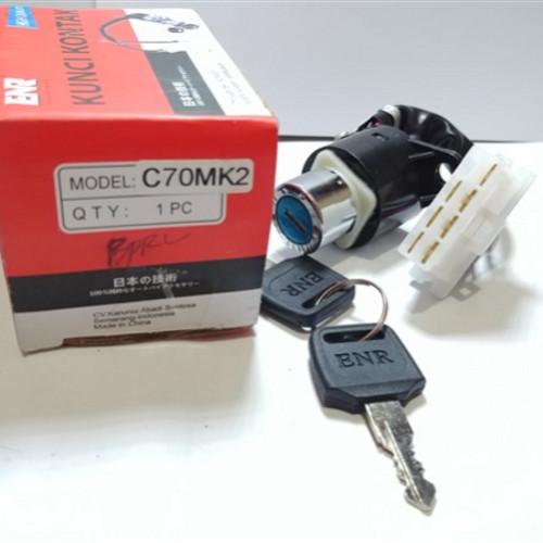 Foto Produk Kunci Kontak C70 MK2 Merk ENR dari Lestari Motor 2