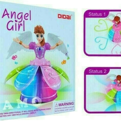 Foto Produk MAINAN ANAK ANGEL GIRL FROZEN DANCE LIGHT dari nambeng toys